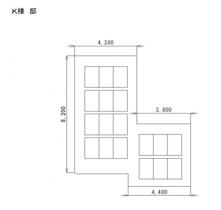 群馬県 K様 長州産業4.32kwシステム、三菱エコキュート