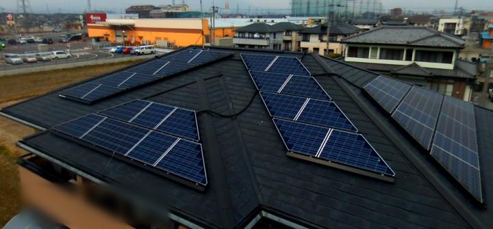 群馬県 O様 長州太陽光発電システム6.1kW