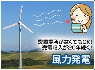 投資するなら55円/kWhの今がチャンス!:C&F小型風力発電システム
