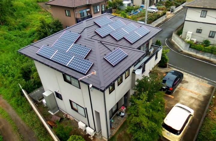 三菱太陽光発電システム4.4Kw
