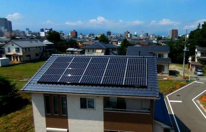 平成26年1月12日完工 三菱太陽光4.4kwシステム