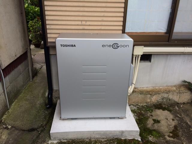O様邸 東芝 蓄電池エネグーン6.6kwh02